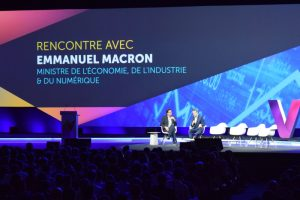 Emmanuel Macron à Viva Technology Paris 2016