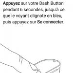 Passage du Dash Button en mode configuration